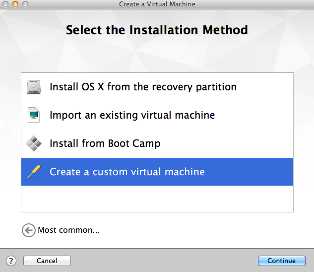 Boot from External Physical Hard Drive in VMware Fusion